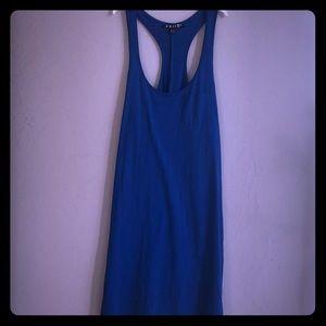 Simple Blue Tank top mini/midi length Volcom dress